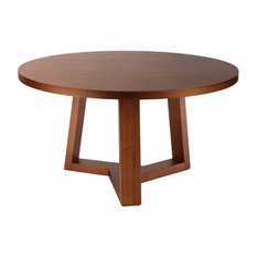 Round Glass Pedestal Dining Table Home Products