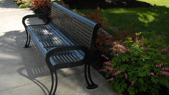 Memorial Bench in Iron