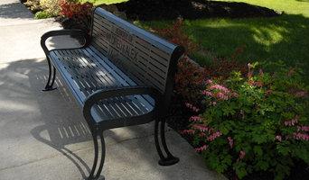 Memorial Bench in Iron