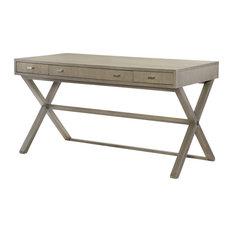 Highline Greige 3 Drawer Desk/Sofa Table