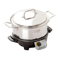 360 Cookware 4 Quart Gourmet Slow Cooker
