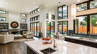 Modern One Story over Basement in Los Altos, CA