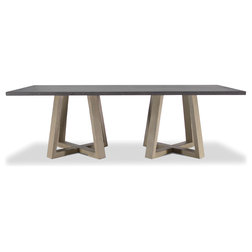 Fabulous Transitional Dining Tables by Brownstone Inc