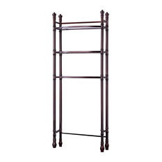Monaco Bath Etagere, Oiled Rubbered Bronze