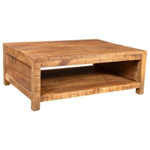 VidaXL Antique Style Mango Wood Coffee Table