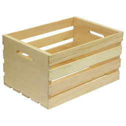 Farmhouse Storage Bins And Boxes by Crates & Pallet