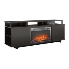 Paisley Fireplace TV Stand Espresso