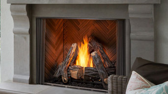 Outdoor Vent Free Gas Courtyard Fireplace