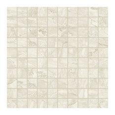 Antique Imperial Marble Porcelain Mosaic Tile, Matte 300x300, 25 Boxes