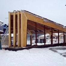 Il lavoro in cantiere d'inverno