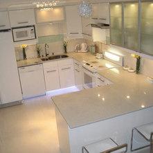 white kitchen remodel white appliances - Kitchen Remodel With White Appliances