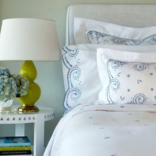 Contemporary Bedding by Seaside Interiors By Our Boat House