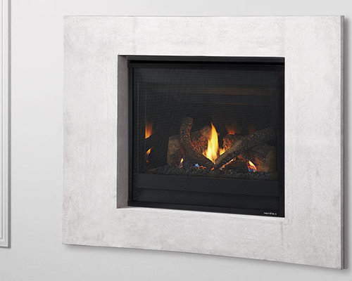 SlimLine fireplaces fit where others don't. Slender profiles with slim