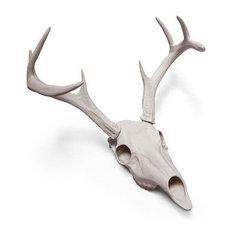 Porcelain White-Tailed Deer Skull