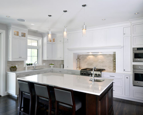 Neutral backsplash ideas, pictures, remodel and decor