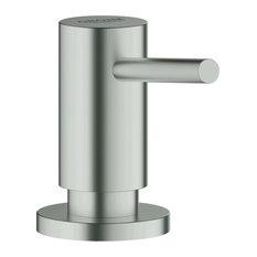 Cosmopolitan Soap Dispenser, Super Steel