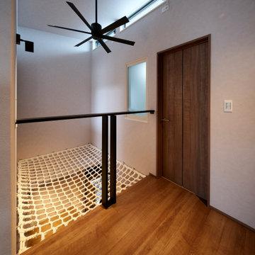 インナーバルコニーのある高気密高断熱住宅