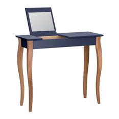 Lilo Medium Scandinavian Dressing Table, Graphite
