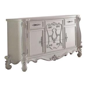 Acme Versailles Dresser Bone White 21135 Victorian
