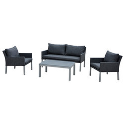 Contemporary Outdoor Lounge Sets by Courtyard Casual