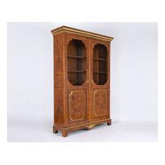 Antique Louis XVI Two Door Bookcase