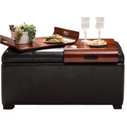 Contemporary Footstools And Ottomans by Convenience Concepts