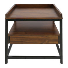 Horizon End Table with Drawer