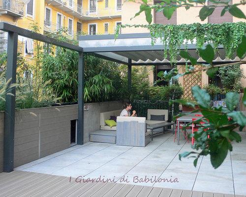 Awesome Lastrico Solare Terrazza A Livello Ideas - Amazing Design ...