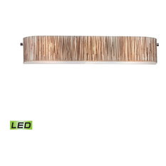Elk Modern Organics 3 Light LED Vanity, Polished Chrome
