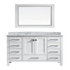 Eviva Aberdeen 60 Vanity With Countertop
