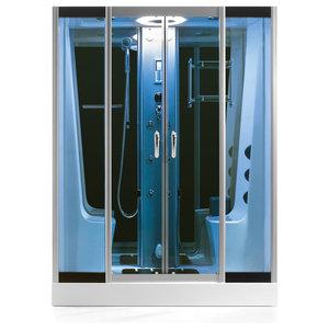 Eagle Bath Steam Shower.Eagle Bath Ws 501 Steam Shower Enclosure W Whirlpool Bathtub Combo