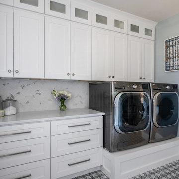 Marvin, NC- Laundry room