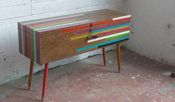 Upcycled sideboard