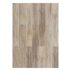 "5.69""x48.22"" Hydrocork Plank Collection Sawn Oak, Set of 9, Twine"