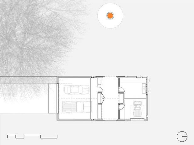 Farmhouse Floor Plan by Jobe Corral Architects