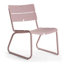 CORAIL Lounge Chair, Pastel Blue, No Cushions