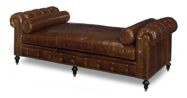 Chesterfield Daybed Chaise Longue - Traditional - Daybeds - by ...