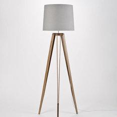 Shop contemporary floor lamps on houzz oak rs 2 tripod floor lamp floor lamps aloadofball Choice Image