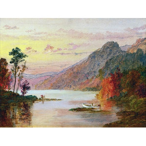 Rikki Knight John Constable Hampstead Heath Design Art Ceramic Tile 4 by 4-Inch