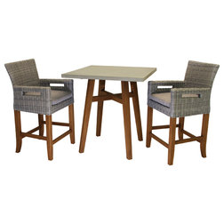 Tropical Outdoor Pub And Bistro Sets by Outdoor Interiors