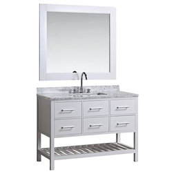 Transitional Bathroom Vanities And Sink Consoles by DESIGN ELEMENT
