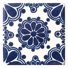"4""x4"" Mexican Ceramic Handmade Tile #C028"