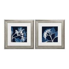 Hydrangeas Neg Print, Set of 2