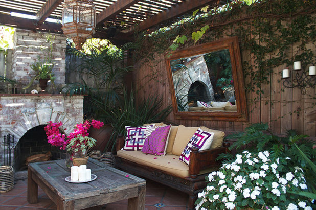 Stunning Eclectic Patio Eclectic Patio