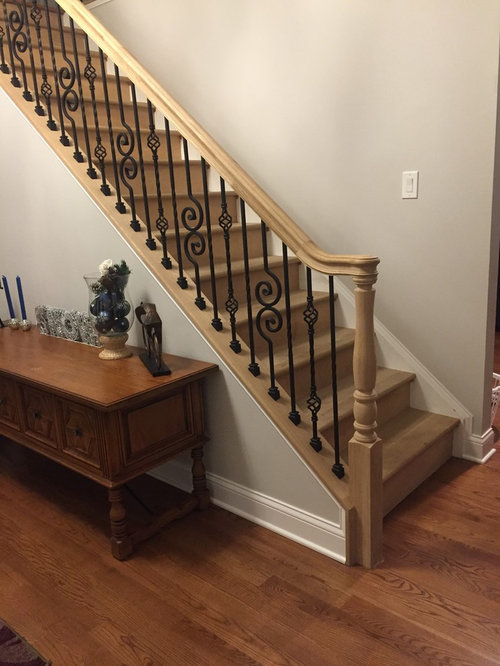 Picking A Color For Staircase And Handrail