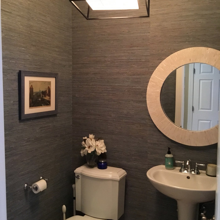 Blue Powder Room