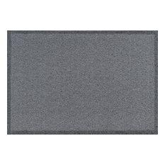Clean Keeper Doormat, Light Grey, Large