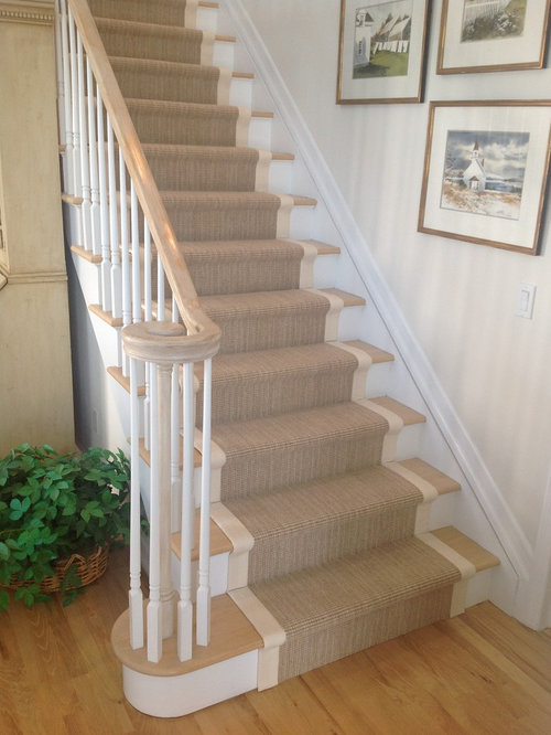 Beautiful Example Of A Classic Home Design Design In New York. Save Photo. Custom  Stair Runners