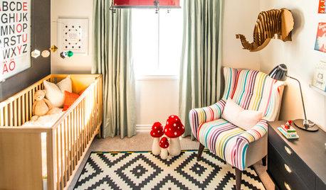 Ein Babyzimmer mit Bücherwurm-Potential