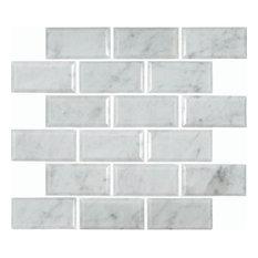 Best Shop White Brick Tile On Houzz